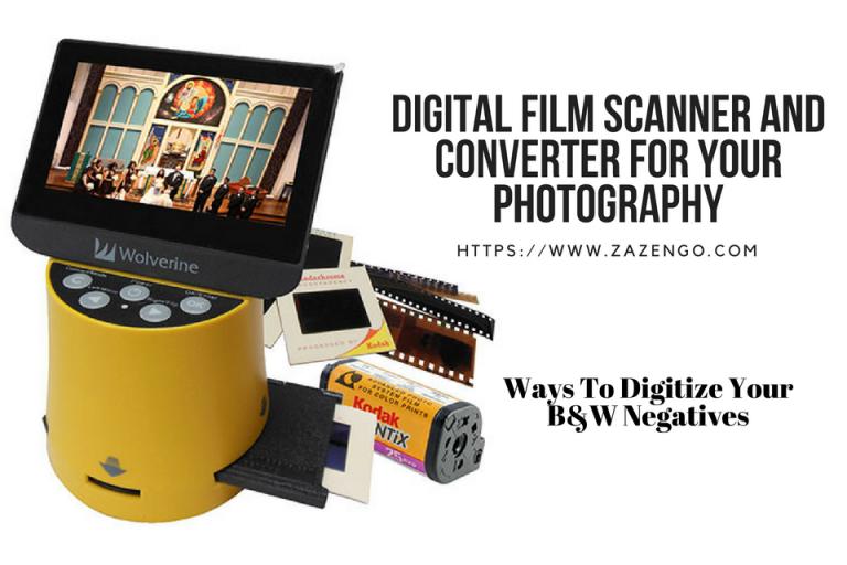 Best Digital Film Scanner And Converter