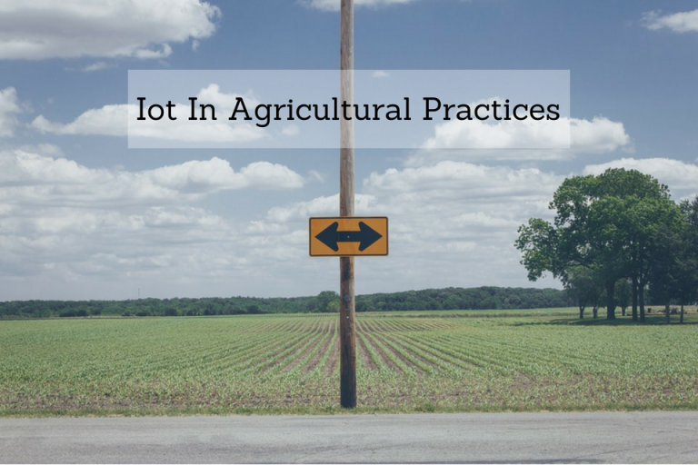Iot In Agricultural Practices