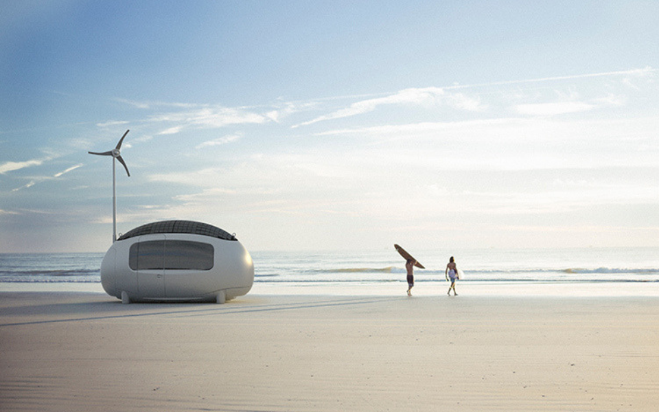 A Smart, Self-Sustained Futuristic Living Almost Anywhere With Ecocapsule