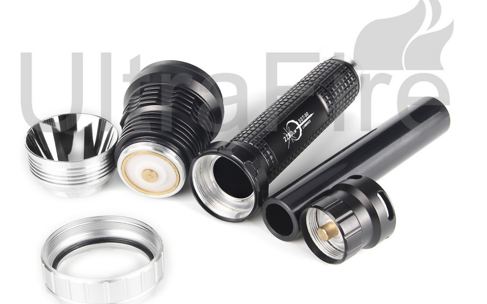 Ultrafire Cree Xml T6 2000 Lumen Flashlight Review