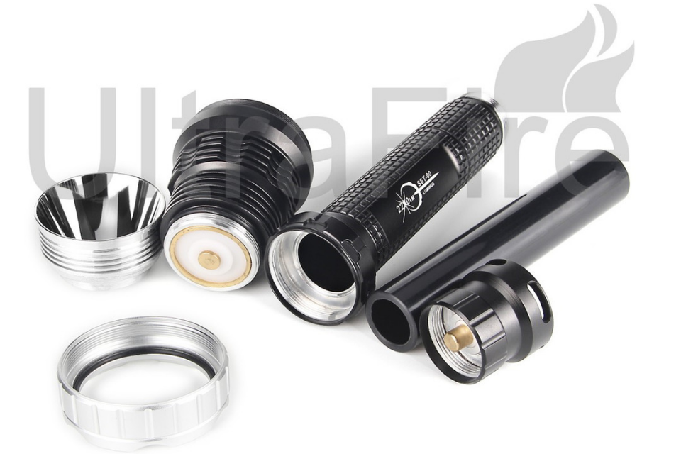 ultrafire flashlight review