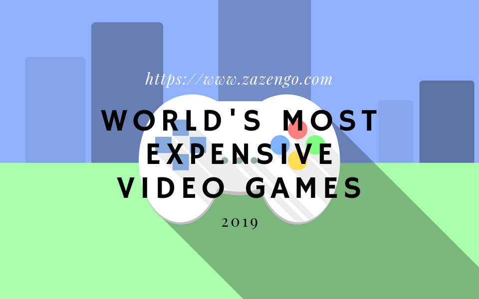 The World's Most Expensive Video Games Ranked For All Time