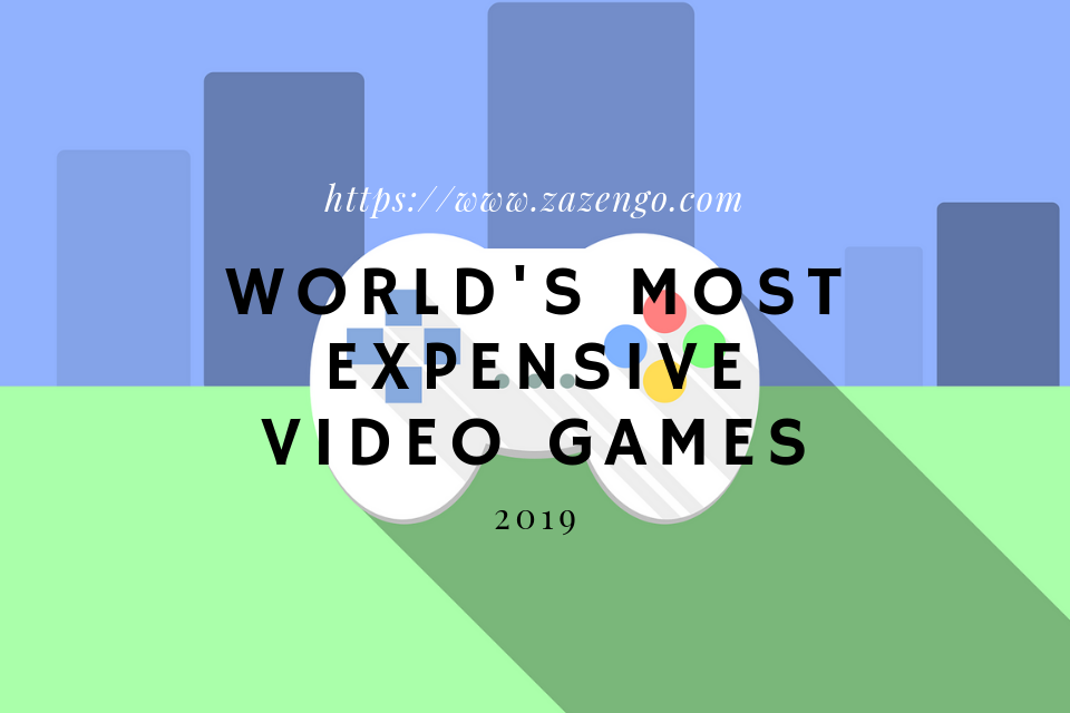 World's Most Expensive Video Games