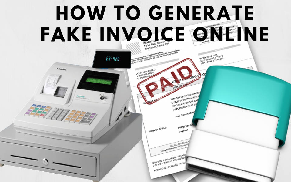 Best Fake Receipt Maker Tools For Free That Work Efficiently