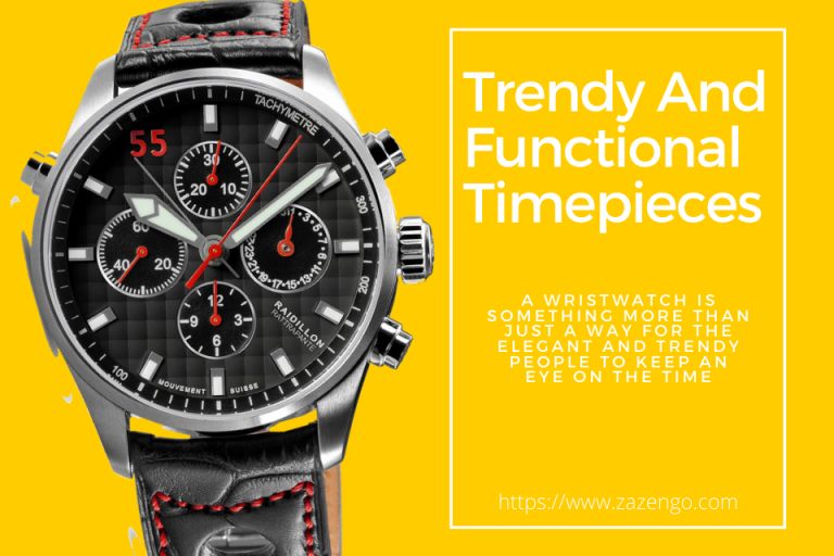 Trendy And Functional Timepieces For Men And Women