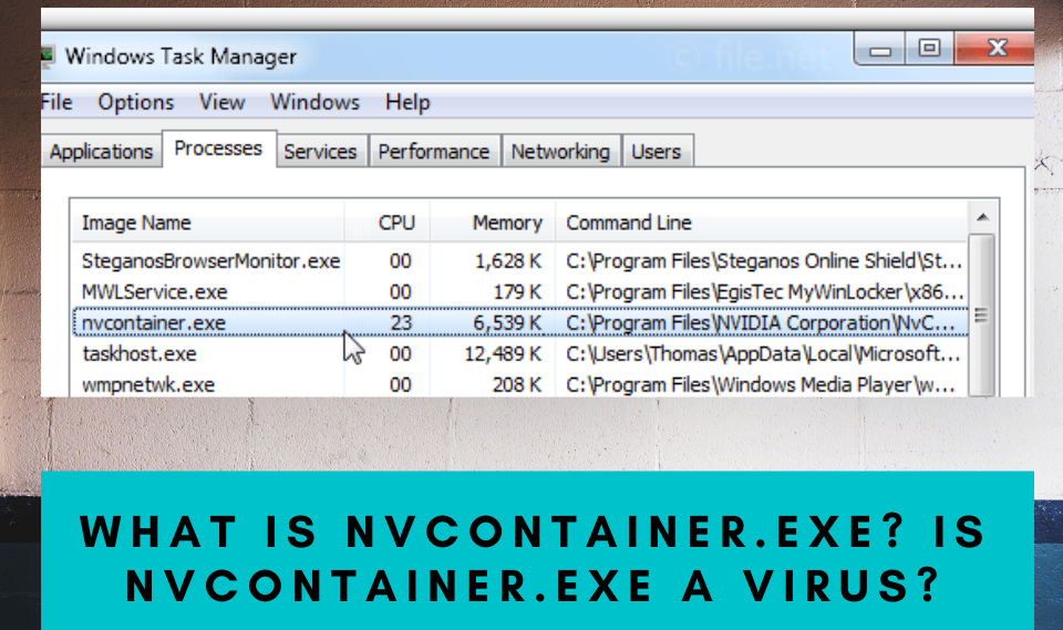 What Is nvcontainer.exe Is nvcontainer.exe a virus